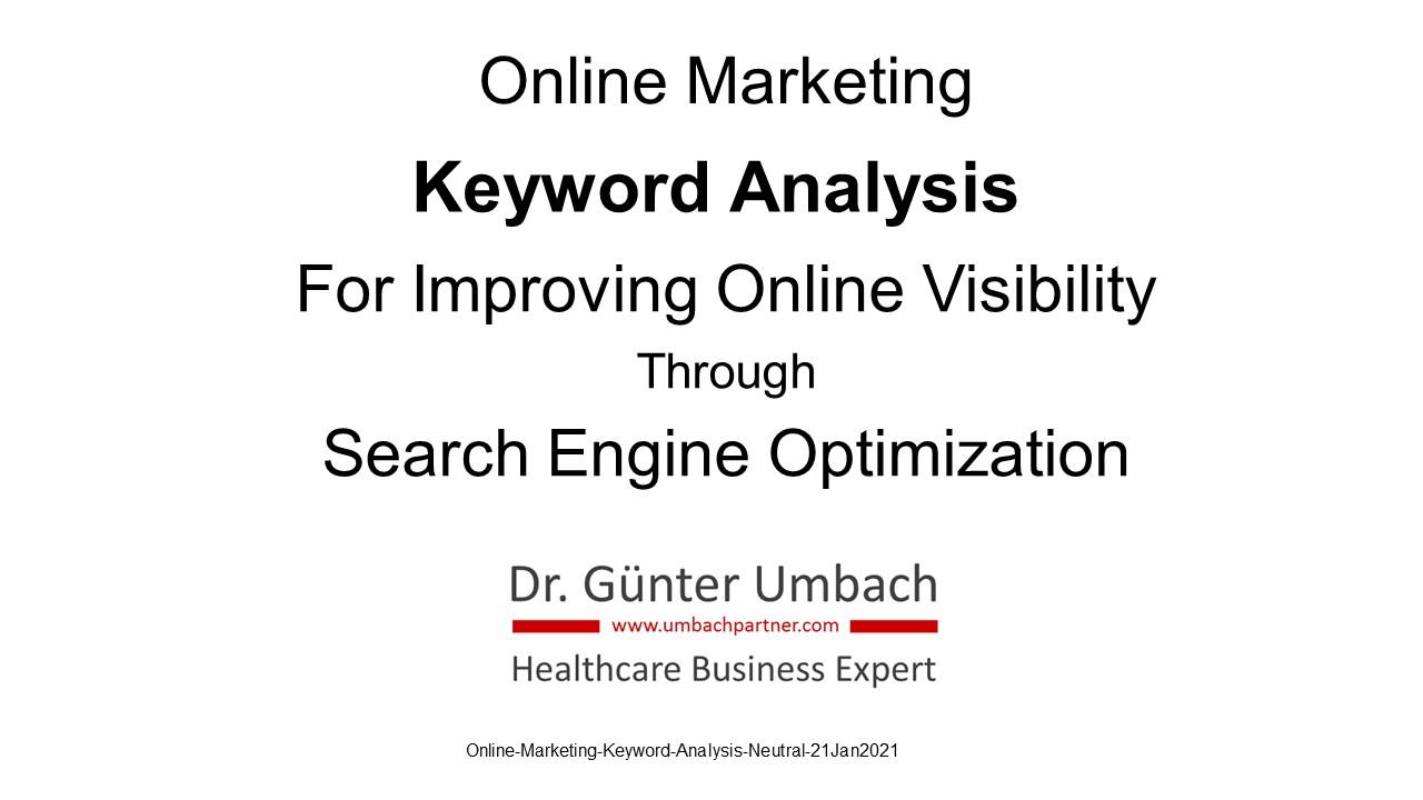 Online-Marketing-Keyword-Analysis