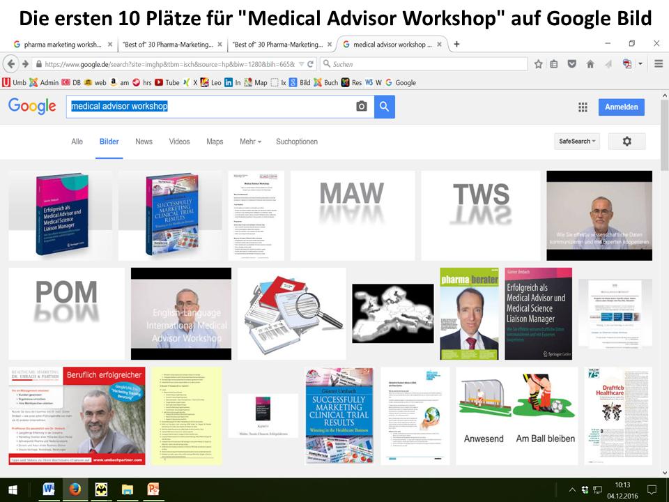 Medical Advisor Workshop