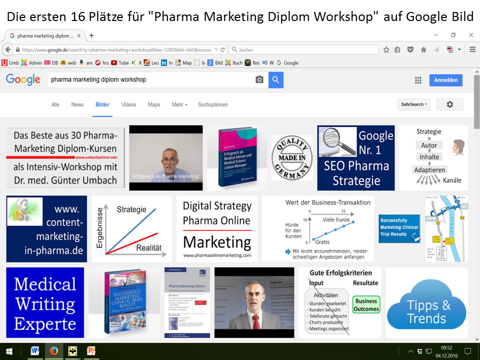Pharma-Marketing-Diplom Workshop